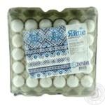Яйцо куриное Ясенсвит Украина С1 30шт (цвет товара на фото может отличаться от цвета товара на полке)