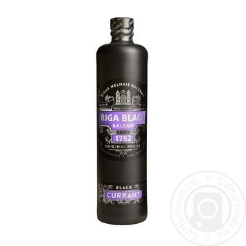 Бальзам Riga Black Balsam Currant 0,7л - купити, ціни на Метро - фото 1