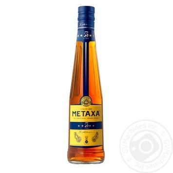 Бренди Metaxa 5* 38% 0,5л - купить, цены на Novus - фото 1