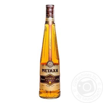 Бренди Metaxa Honey 30% 0,7л - купить, цены на Novus - фото 1