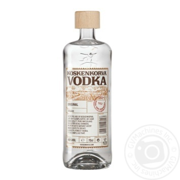 Koskenkorva Original Vodka 40% 0,7l - buy, prices for Novus - image 1