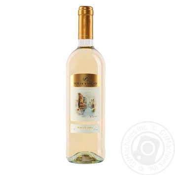Solo Corso white dry wine 11,5% 0,75l - buy, prices for Novus - image 1