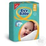 Подгузники Evy Baby 2 мини 3-6кг 54шт