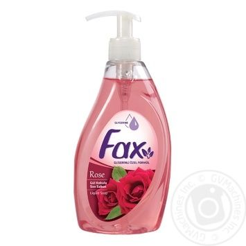 Soap Fax with rose extract liquid for body 400ml - buy, prices for Novus - image 1