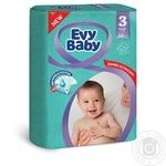 Diaper Evy baby for children 5-9kg 68pcs