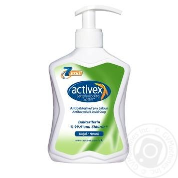 Activex natural antibacterial liquid soap 300ml - buy, prices for Novus - image 1