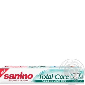 Зубна паста Sanino Комплексний догляд з мінералами і фтором 100мл/128г