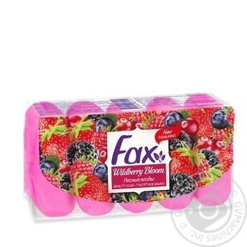 Мыло Fax Лесные ягоды 5*70г