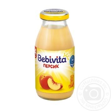 Напиток фруктовый Bebivita Персик для детей с 4 месяцев 200мл - купить, цены на Novus - фото 1