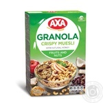 AXA Granola With Fruits And Nuts Crispy Muesli 375g - buy, prices for MegaMarket - image 1