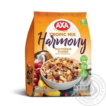AXA Harmony Multigrain With Tropical Fruits Flakes 400g - buy, prices for CityMarket - photo 1