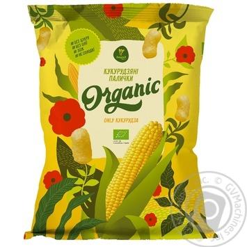 Кукурузные палочки Екород Organic 50г - купить, цены на МегаМаркет - фото 1