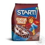 Start! Cocoa Balls Grain Dry Breakfast 500g - buy, prices for Metro - image 1