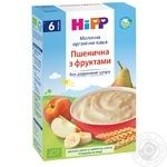 HiPP Milk wheat porridge with fruits for 6+ months babies 250g