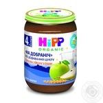Milk porridge HiPP Good Night with applea and pears for 4+ months babies glass jar 190g Hungary