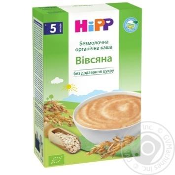 Каша детская HiPP  био-овсяная безмолочная с 5 месяцев 200г - купить, цены на Novus - фото 8