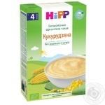 Каша Hipp кукурузная безмолочная органическая для детей с 4 месяцев без добавления сахара 200г