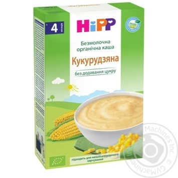 Hipp for children from 4 months dairy-free with corn dry pap 200g - buy, prices for CityMarket - photo 1