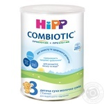 Milk formula HiPP Combiotic 3 for 10 months babies to 3 years babies 350g