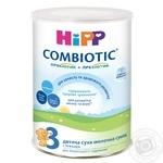 Суміш молочна ХіПП Комбіотік 3 суха для подальшого годування для дітей з 10 місяців до 3 років 350г