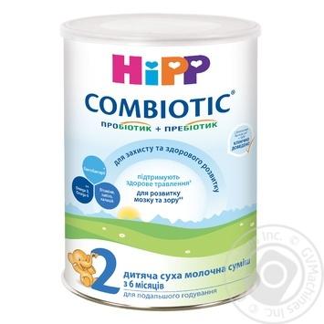 Hipp Combiotiс 2 for children from 6 months milk dry blend 750g