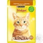 Корм для котів Friskies з індичкою шматочки у підливці 85г