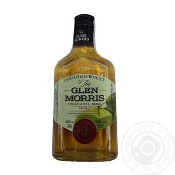 Напій алкогольний Glen Morris Apple 30% 0,25л - купити, ціни на МегаМаркет - фото 1