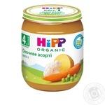 Пюре HiPP овощное ассорти с омега-3 жирными кислотами для детей с 4 месяцев 125г