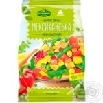 Суміш овочева Хуторок Селянський Мексиканська швидкозаморожена 400г - купити, ціни на ЕКО Маркет - фото 1
