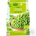 Vegetables pea Khutorok selianskij green canned 400g packaged - buy, prices for Furshet - image 1
