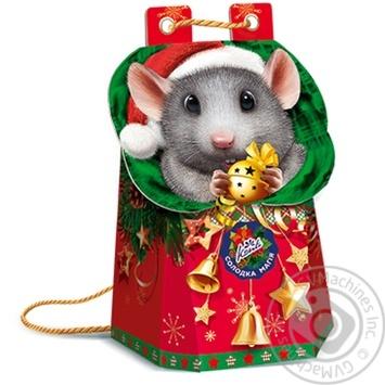 Новогодний подарок Конти в виде рюкзачка 402г - купить, цены на Novus - фото 3