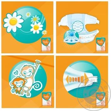 Подгузники Pampers Sleep & Play 5 Junior 11-16кг 58шт - купить, цены на Метро - фото 3