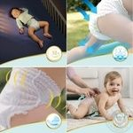 Подгузники-трусики Pampers Premium Care Pants размер 5 Junior 12-17кг 20шт - купить, цены на Ашан - фото 5