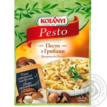 Приправа к пасте Kotanyi Песто с грибами 30г - купить, цены на Novus - фото 1