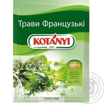 Приправа Kotanyi Французские травы 17г - купить, цены на Novus - фото 1