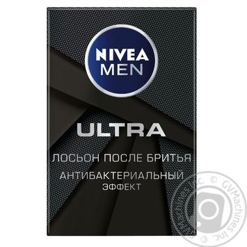 Лосьйон після гоління Nivea Men Ultra Антибактеріальний ефект 100мл