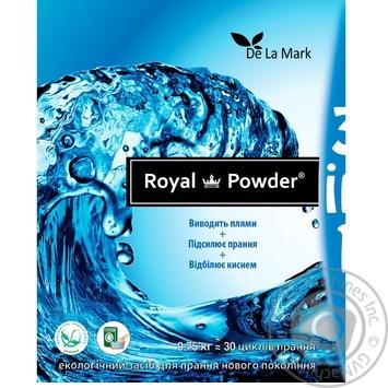 Отбеливатель Delamark Royal Powder кислородный 0,75кг - купить, цены на СитиМаркет - фото 3