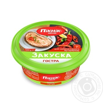 Picnic Spicy Snack 100g - buy, prices for MegaMarket - image 1