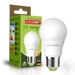 Лампа світлодіодна Eurolamp LED E27 7W 3000K