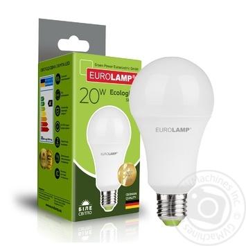 Лампа світлодіодна Eurolamp LED ЕКО A75 20W E27 4000K