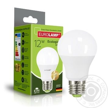 Лампа Eurolamp eko светодиодная A60 12W E27