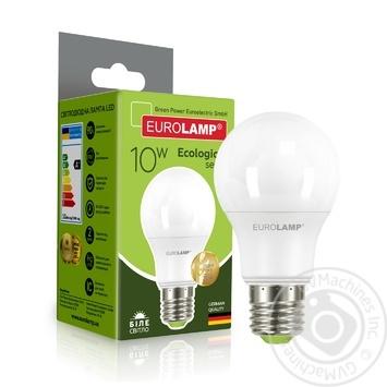 Лампа светодиодная Eurolamp LED A60 E27 10W 4000K - купить, цены на Ашан - фото 5