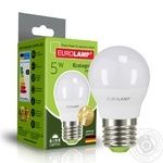 Лампа світлодіодна Eurolamp Е27 5W 4000К