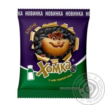 Семечки подсолнечника Хомка элитные жарен соленые 150г - купить, цены на Таврия В - фото 1
