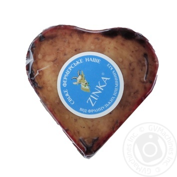 Zinka Goat Cheese Semi-Firm Red 45% - buy, prices for Auchan - photo 1