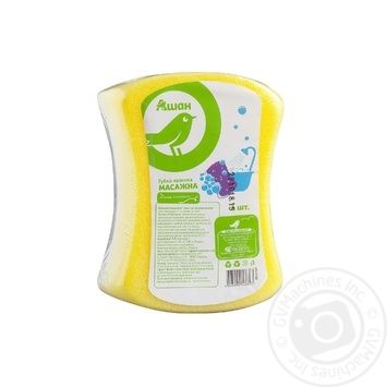 Bath sponge Auchan Auchan - buy, prices for Auchan - photo 1