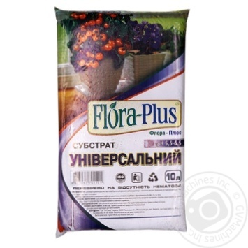 Flora-Plus substrate universal 10l - buy, prices for MegaMarket - image 1