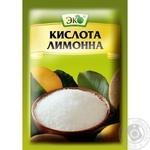 Кислота лимонна Еко харчова 25г