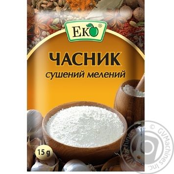 Eco Dry Ground Garlic - buy, prices for Novus - image 1