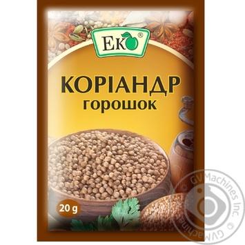 Кориандр Эко горошек 20г - купить, цены на Novus - фото 1